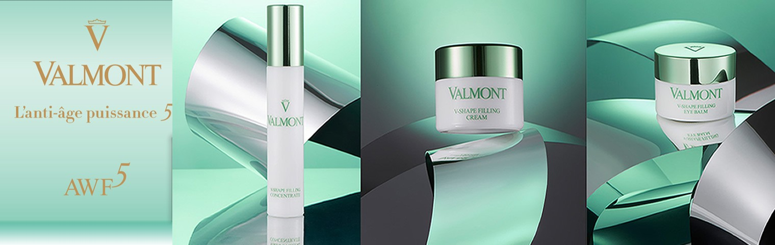 La nouvelle ligne de soins Valmont